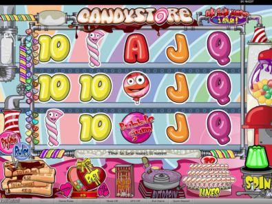 Slot Reels - Candy Store bwin.party 5 Reel/30 Line