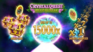 Info - Crystal Quest Deep Jungle Thunderkick 6 Reel/4096 Line