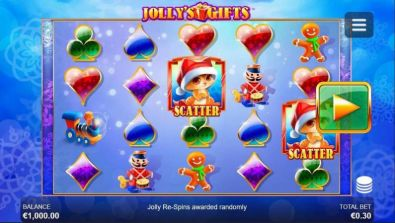 Slot Reels - Jolly's Gifts Side City 5 Reel/40 Line
