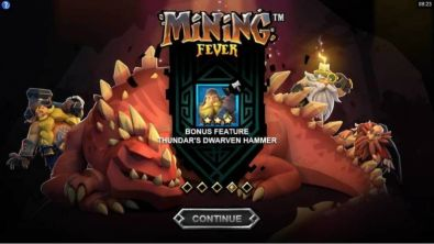 Info - Mining Fever Microgaming 5 Reel/243 Line