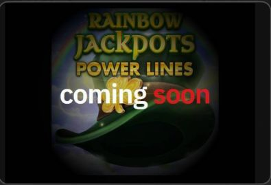 Info - Rainbow Jackpots Power Lines Red Tiger Gaming 6 Reel/4 Line