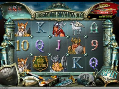 Slot Reels - Ride of the Valkyries Raffle bwin.party 5 Reel/243 Line