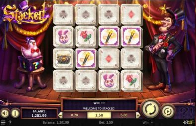 Slot Reels - Stacked BetSoft 4 Reel/20 Line