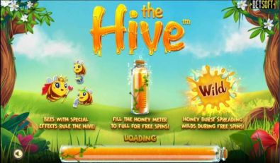 Slot Reels - The Hive BetSoft 5 Reel/30 Line