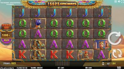 Slot Reels - The Mummy EPICWAYS Fugaso 6 Reel/