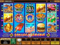 Slot Reels - Spring Break Microgaming 5 Reel/9 Line